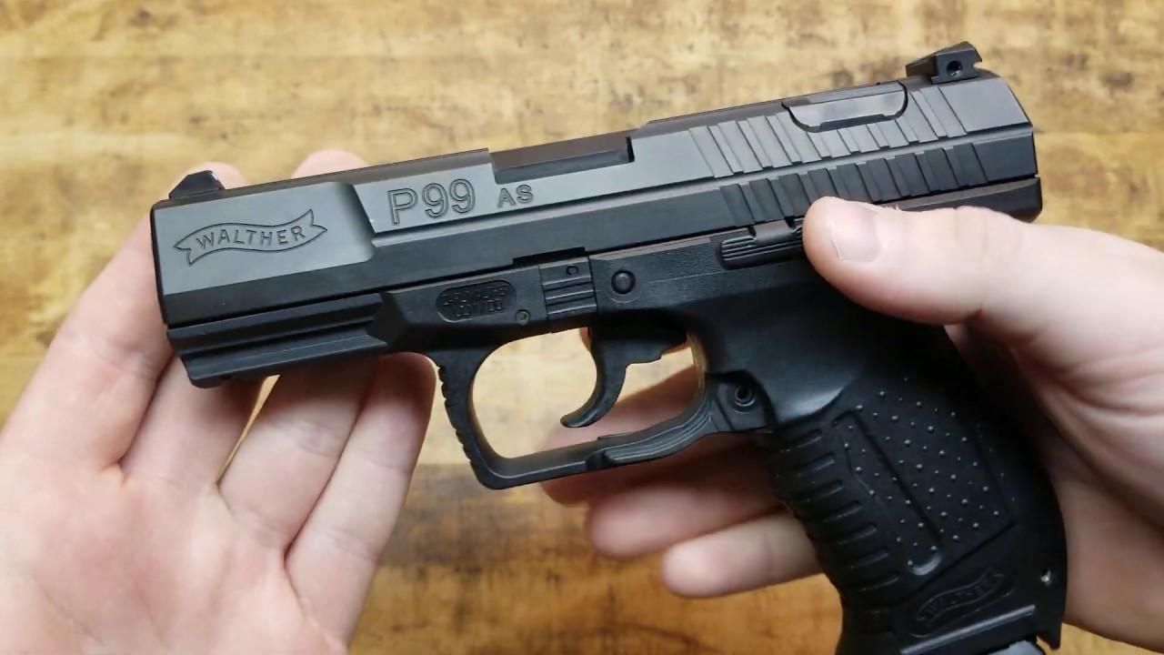 Пистолет Вальтер P38: подробный обзор
