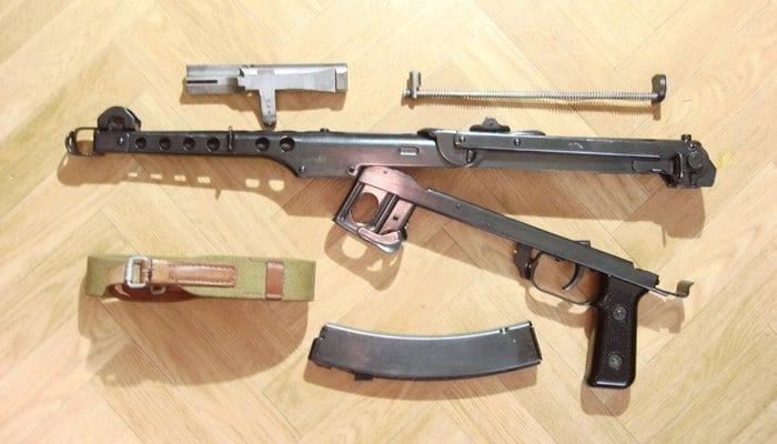 Пистолет-пулемет Судаева ППС-43