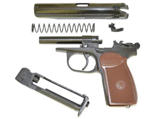 Пневматический пистолет МР-654К гражданская копия Макарова
