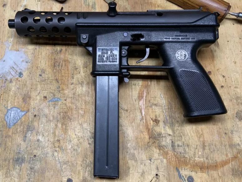 Tec 9 пистолет-пулемет