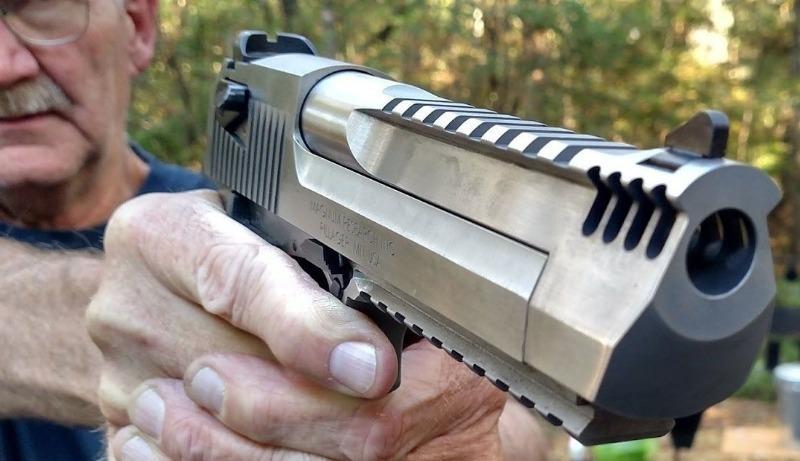 Desert Eagle: пистолет по кличке пустынный орел