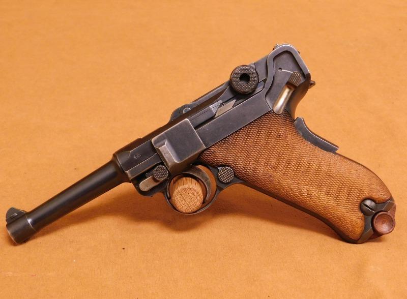 Пистолет Парабеллум: история, конструкция и принцип действия