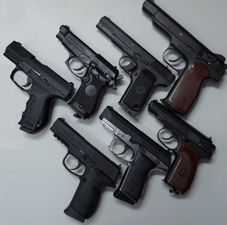 Самый мощный пневматический пистолет