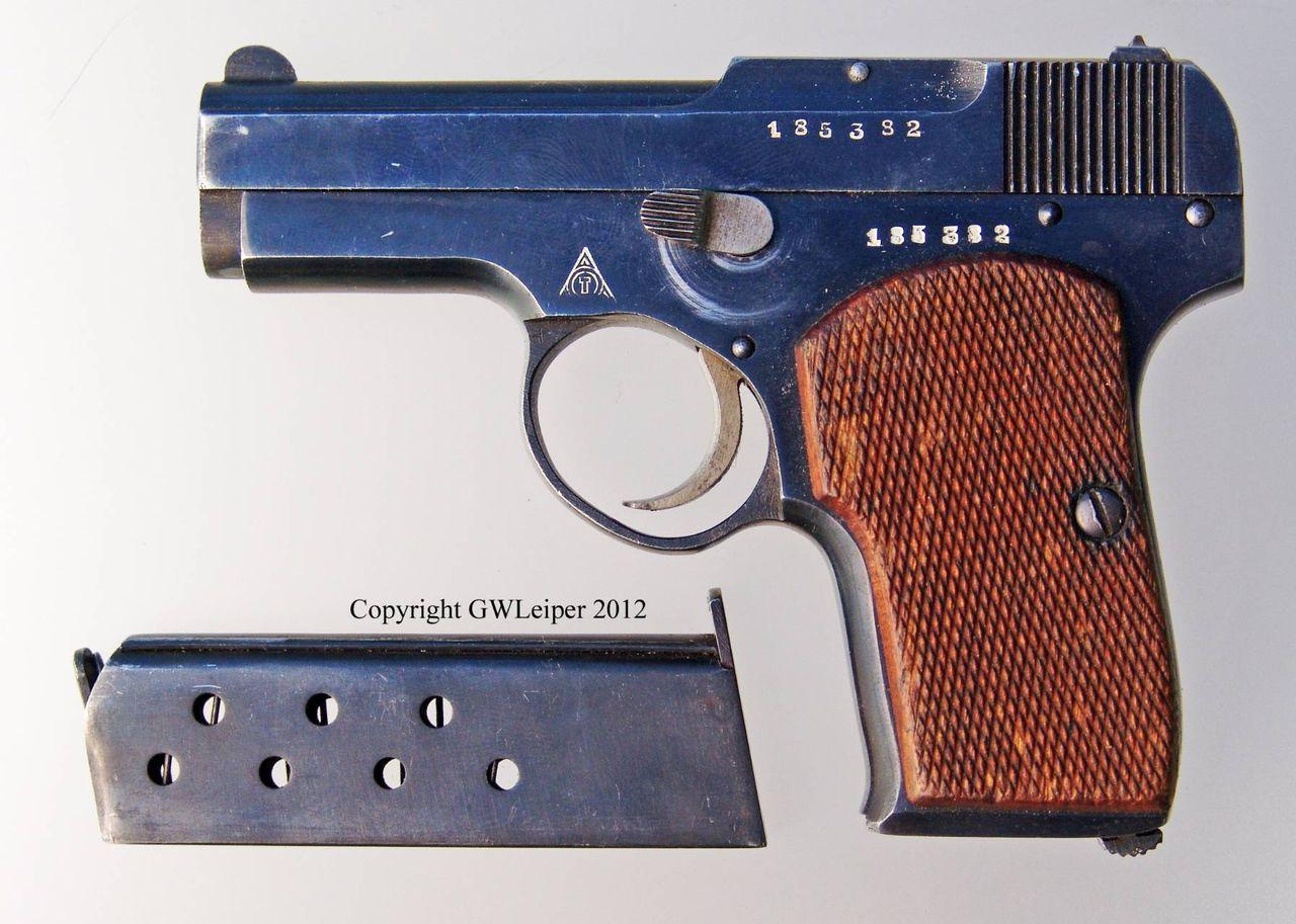 Пистолет Коровина ТК-26: описание, история создания, конструкция