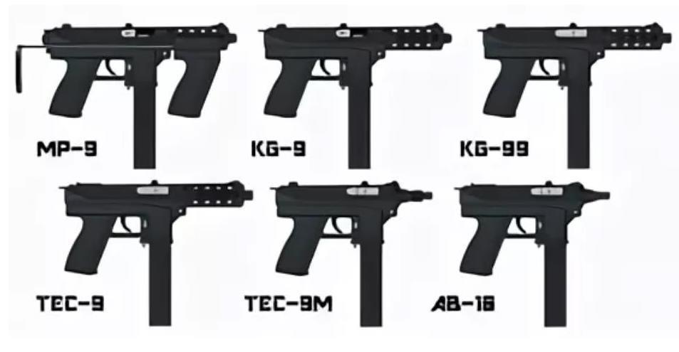 Тек 9 пистолет-пулемет Intratec Tec DC9