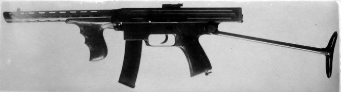 Пистолет пулемет Калашникова 1942 года выпуска