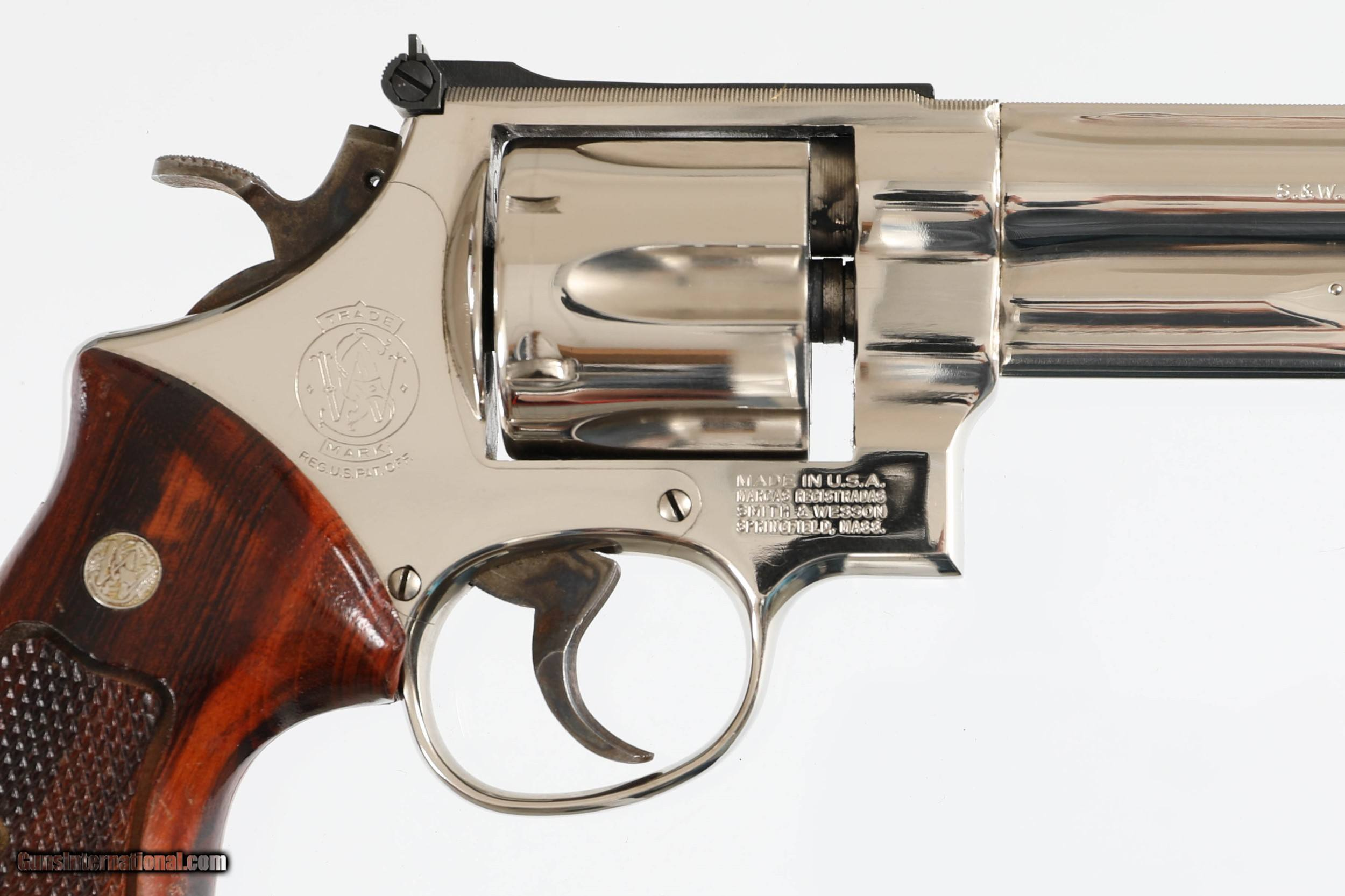 Smith Wesson .357 Magnum: классика от американцев