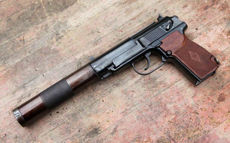 Пистолет Бесшумный 6П9