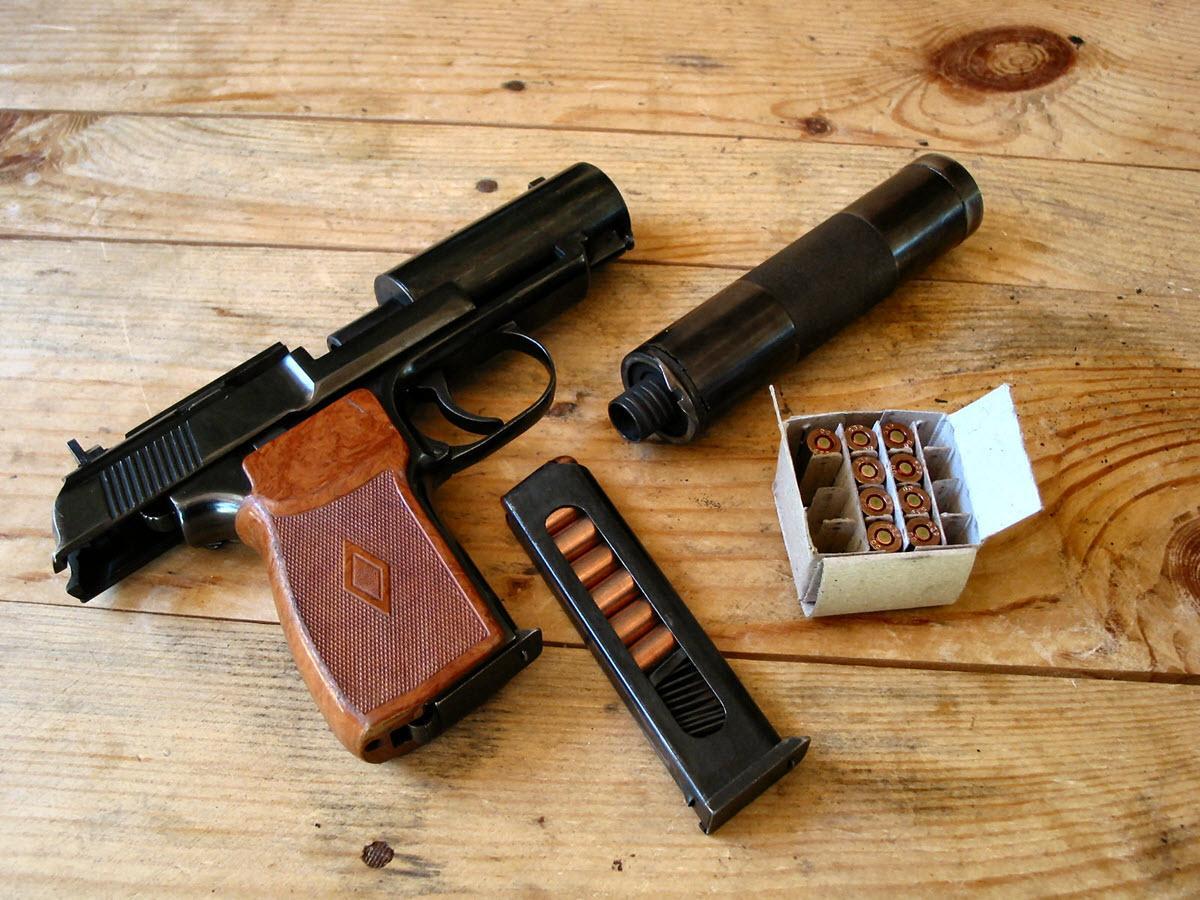 Бесшумный пистолет 6П9: История разработки, описание конструкции, аналоги