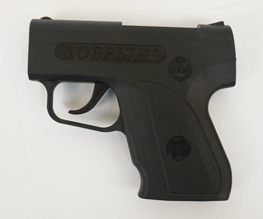 Обзор аэрозольного пистолета Добрыня: устройство, ттх, законы