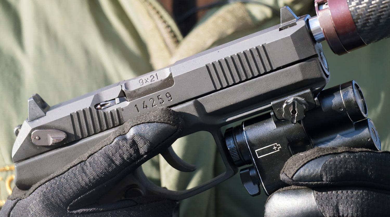 пистолет Удав