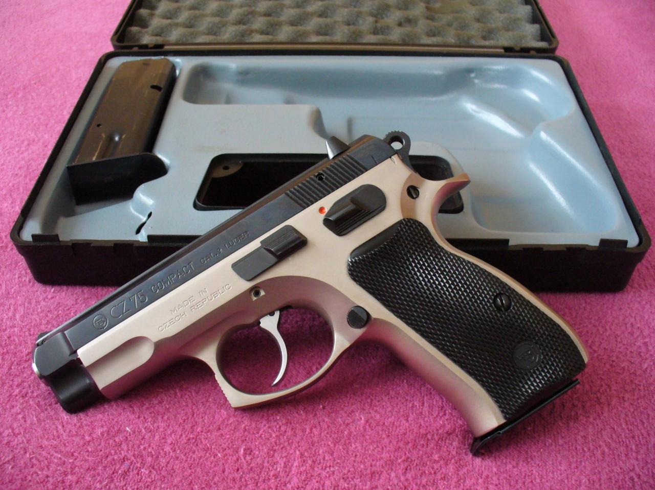 Самозарядный пистолет CZ-75: история создания, конструкция, модификации