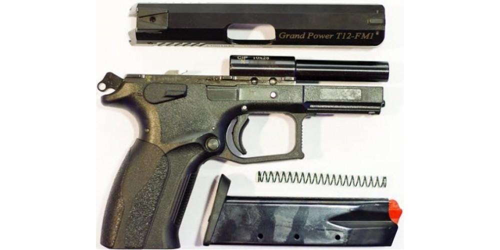 Grand Power T12: мощный травматический пистолет