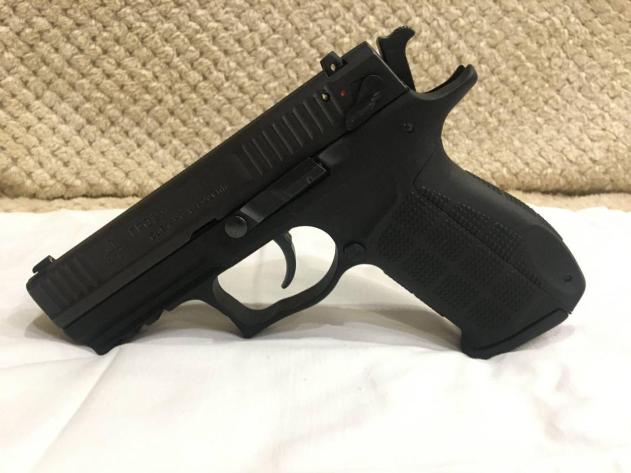 Травматические пистолеты и револьверы Гроза: описание, модели и характеристики