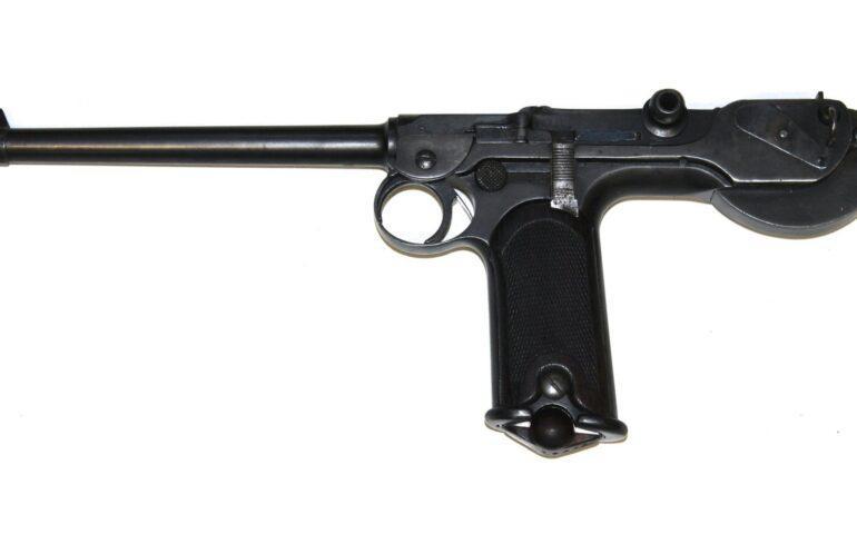 Немецкий пистолет Borchardt C93