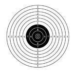 Мишени для стрельбы: 🎯 для пневматической винтовки и пистолета, спортивные, развлекательные и силуэтные мишени