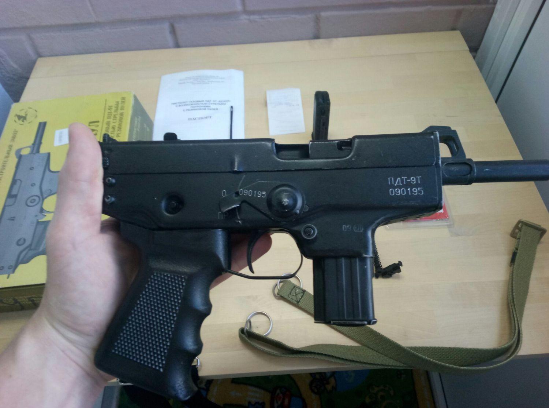 «Есаул» травматический пистолет-пулемет