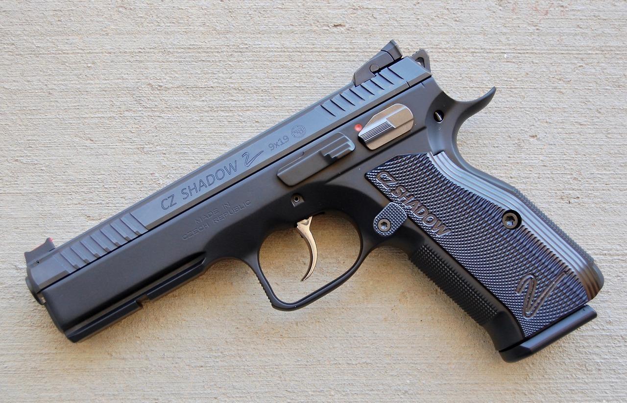 Пистолет CZ Shadow 2: создан специально для соревнований чтобы побеждать