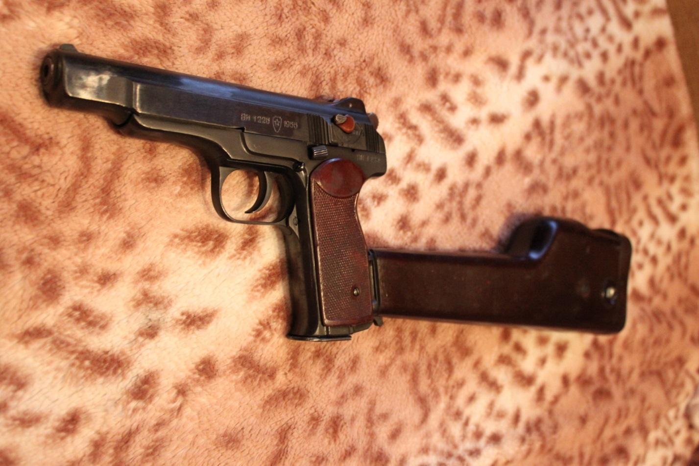Пистолет Стечкина АПС-М травматический: надежный товарищ для самообороны