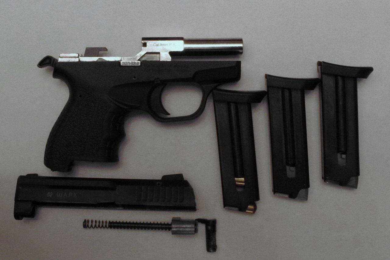 Пистолет Shark: компактное оружие для самообороны турецкого производства